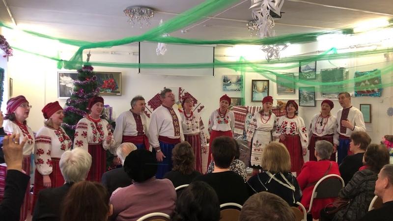 КАЛИНОВЕ ГОРОНО МОСКВА. Пушкино.Отчетный концерт Рождественская сторона