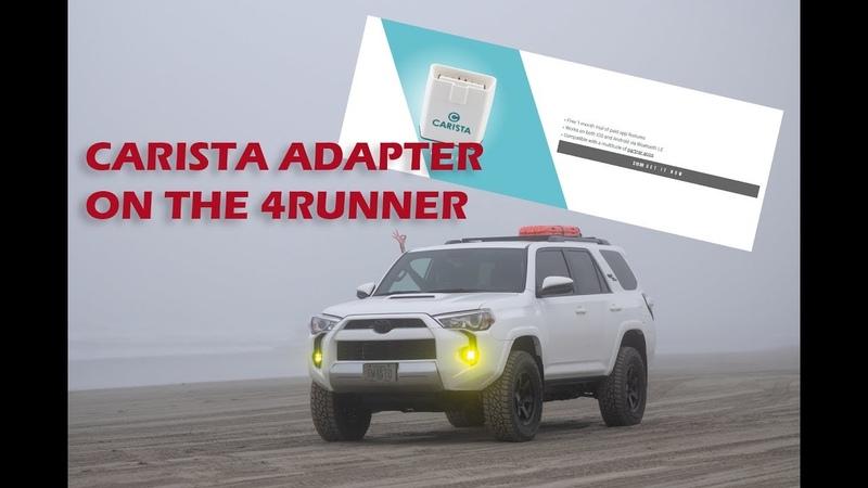 Carista Adapter on a Toyota TRD 4Runner