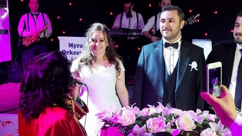 Harika düğün girişi ve nikah