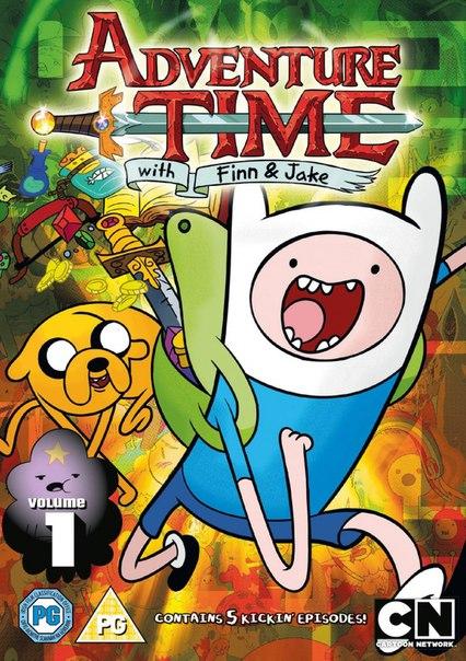 Время приключений 1-7 сезон 1-38 серии Дубляж, Т.О. Друзей | Adventure Time