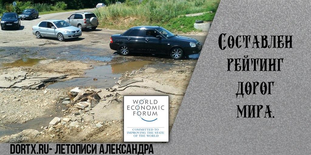Российская разбитая дорога