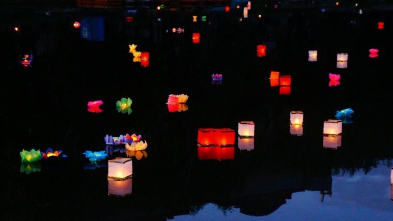 Фестиваль водных фонариков пройдет в Вологде в выходные