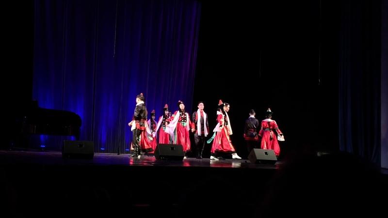 танец Приветственный Санкт-Петербургский бурят-монгольский ансамбль Ая-Ганга