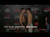Стердауны на взвешивании участников турнира UFC Сингапур.