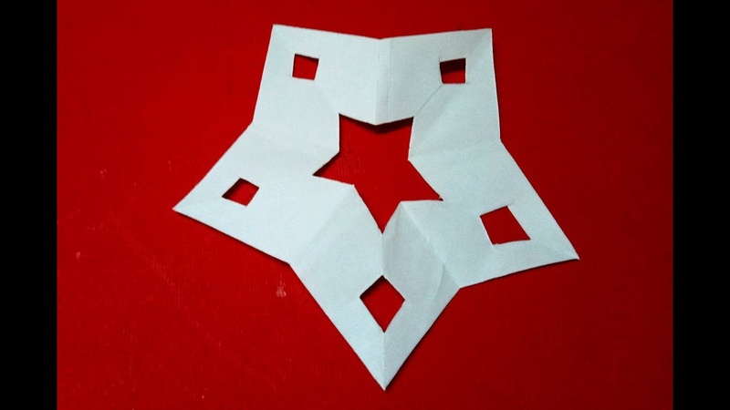 How To Make Snowflake For Christmas Decoration Paper Craft | Easy Paper snowflake Making Tutorial