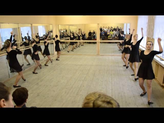Народный танец (упражнения у станка)