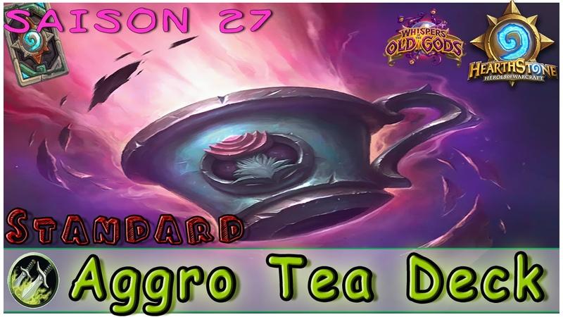 Hearthstone | Aggro Tea6 Rogue Deck Decklist | STANDARD Constructed | Legend
