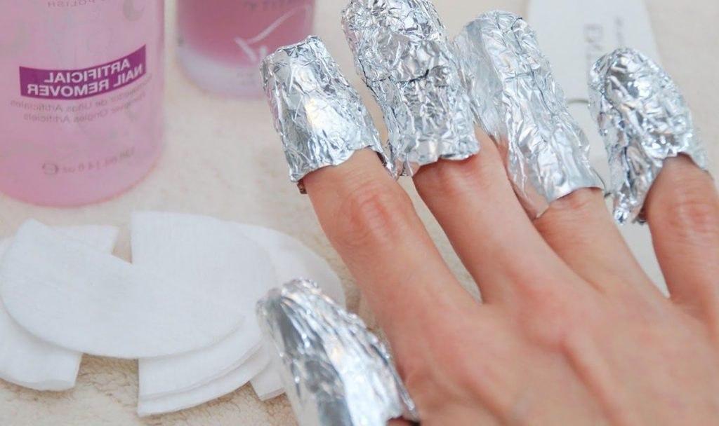 Как удалить гель с ногтей в домашних условиях 976