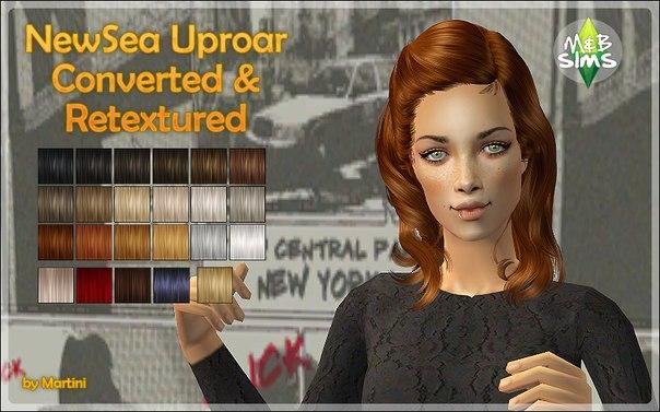 Прически для The Sims 2 .Женские YnZJEQKTGQE