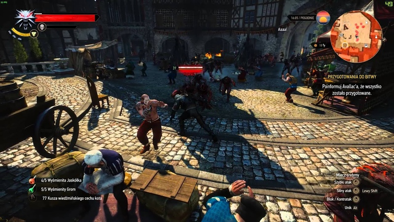 Witcher 3 Infection mode