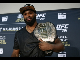 Tyron Woodley by Natural Born MMA Fan