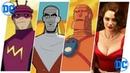 Doom Patrol Evolution Cartoons TV 2019.