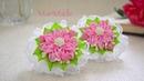 Новый Лепесток Канзаши Резинки Цветы из Ленты Kanzashi Flowers Bows