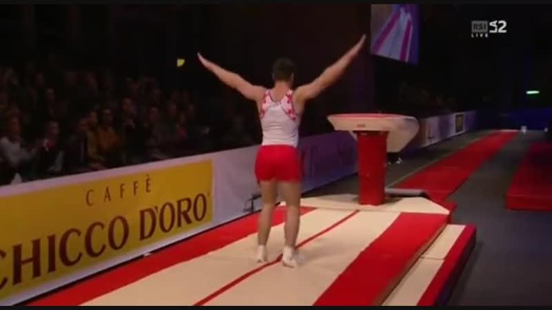 2018 Memorial Arturo Gander Никита Нагорный прыжок