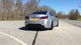 Lexus IS-F. Borla catback exhaust launch vidSpecd smoked red led tails preview