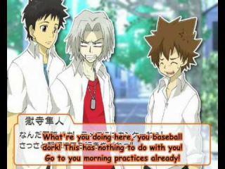 Reborn drama CD 01 - one day observation report of Hibari Kyoya - A [ENG_SUB].avi
