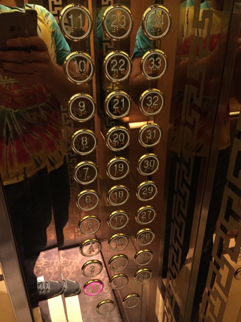 Отчет о путешествии в Северную Корею Лифт в гостинице