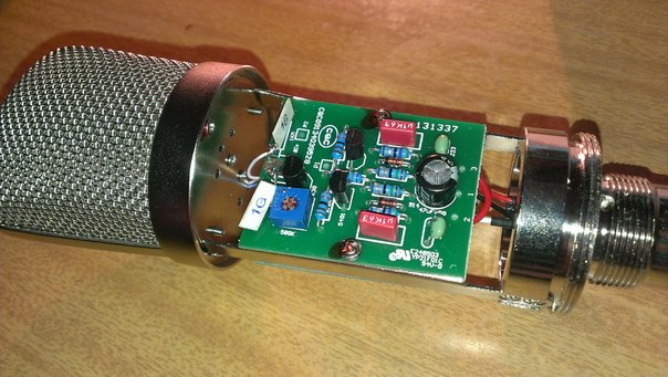 Микрофон bm 800 схема