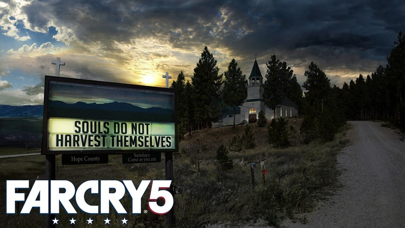 Far Cry 5 The Blessing Just Takes Minutes Liberating Outpost in John's Region Extended Loop