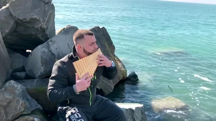 М Магомаев Синяя вечность на панфлейте и флейте