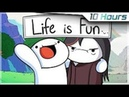 [10 Hours] Life is Fun - Ft. Boyinaband (Official Music Video)