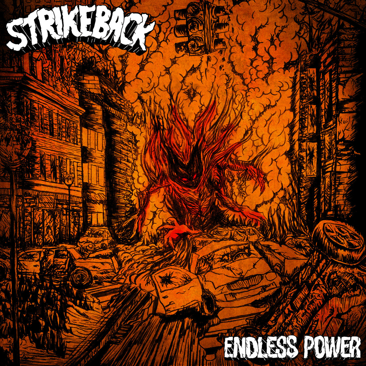 Strike Back - Endless Power [EP] (2018)