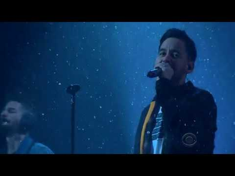 Linkin Park - Invisible (The Late Late Show with James Corden 2017) HD