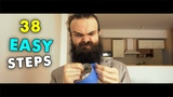 How to grow a Majestic Beard - 38 Easy Steps the ASMR way - Care Routine
