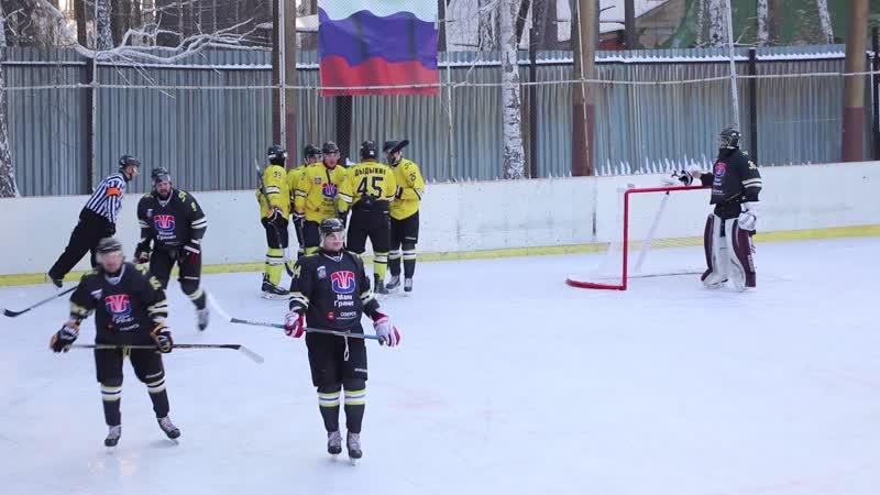 Хоккейный матч Новогодняя классика - ХК А.Кириллова и ХК Д.Петрюка (30.12.18)