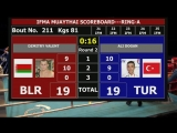 Dmitry Valent (BLR) vs Ali Dogan (TUR)