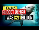 Peter SCHIFF September 13 2018 The August Budget Deficit Was $211 Billion