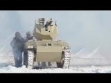 Концерн «Калашников» испытал боевых роботов «Соратник» и «Нахлебник».