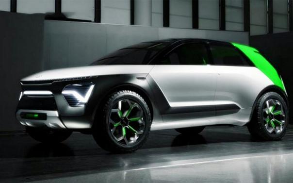 Новый кроссовер ia: совсем другой вид. Корейская компания привезет на мотор-шоу в Нью-Йорке кроссовер, который получил имя Habaniro.Судя по единственному изображению, которое опубликовали