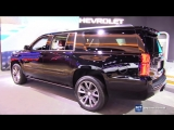 2018 Chevrolet Suburban Premier - Exterior and Interior Walkaround - 2018 Detroi