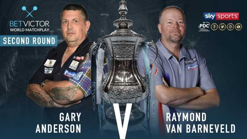 2018 World Matchplay Round 2 Anderson vs van Barneveld