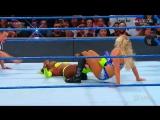 Becky Lynch vs. Charlotte Flair vs. Naomi vs. Tamina (WWE SmackDown 19.09.2017)
