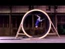 PARKOUR Human Loop the Loop with Damien Walters Unbelievable