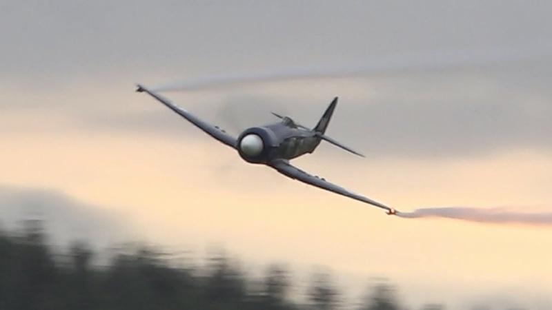HAWKER SEAFURY Low Loud Fast