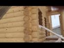 Дом из оцилиндрованного бревна - Дом своими руками