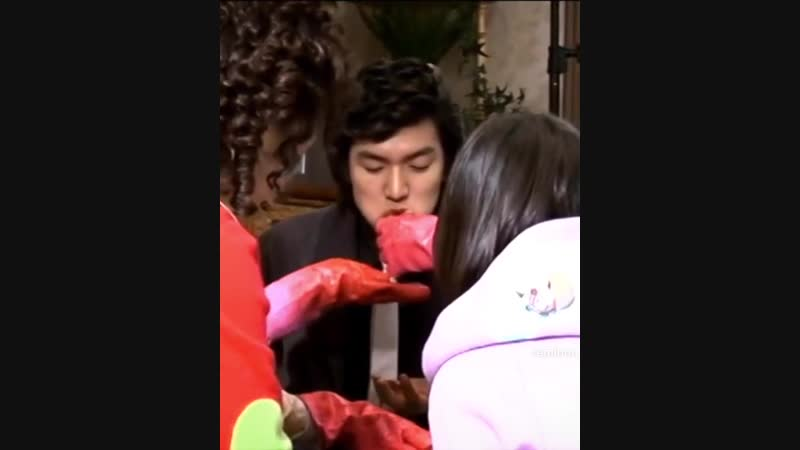 Lee Min Ho 💖 Boys Over Flowers Making 🎬🤣 cr.reminon_reminon