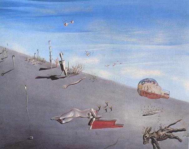 « одного шедевра». «Мед слаще крови», Сальвадор Дали Сальвадор Дали написал две картины с одним названием «Мед слаще крови» с интервалом 14 лет. Первая работа датируется 1927 годом. Изначально