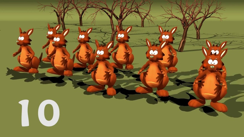 Ten Little Kangaroos