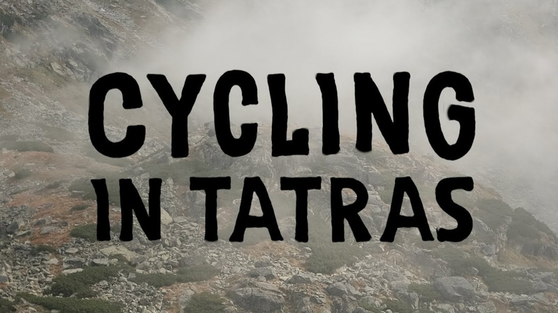 Cycling in Tatras mountains