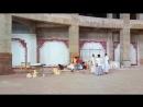 Мраморные стены в алтарной Храма Ведического Планетария