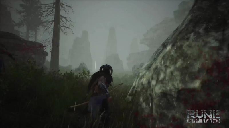 Как выглядит стрельба из лука в Rune