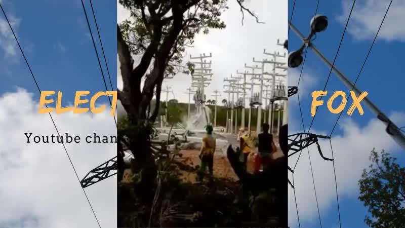 Нападение на подстанцию _ Electric substation attack