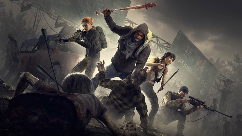 Overkill's The Walking Dead - Ходячие от создатилей PAYDAY ! Первый взгялд, бета тест!