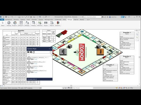 Monopoly in Revit Showcasing the Power of Dynamo