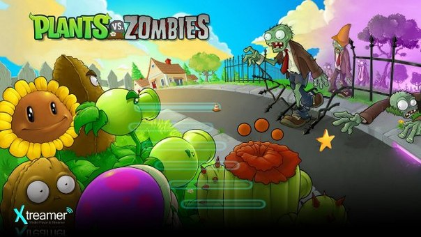 онлайн смотреть растения против зомби: