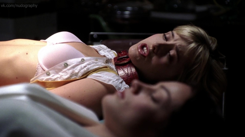Эллисон Мэк (Allison Mack) - Тайны Смолвиля (Smallville, 2007) - Сезон 7 / Серия 4 (s07e04) 1080p (Голая? Нет: бельё, лифчик)